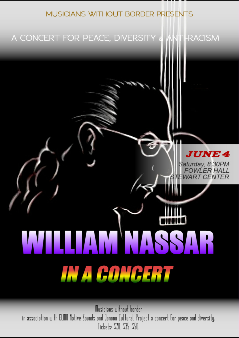 William Nassar A Music for Peace and Diversity Concert